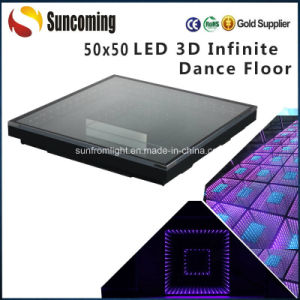 Wedding Party Club 3D Infinity LED Dance Floor pictures & photos
