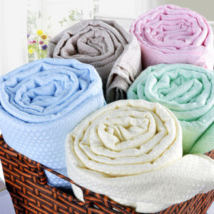 100% Bamboo Fiber Towels Blanket pictures & photos