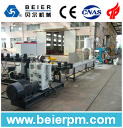 Two-Stage PP, PE Flake Granulation Line pictures & photos