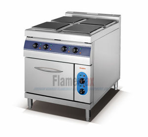 4-Plate Electric Cooker with Electric Oven (square) (HSQ-94E) pictures & photos