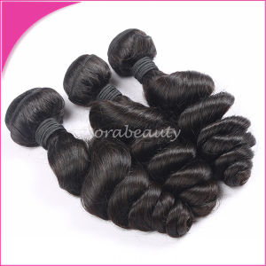 Big Wholesale Indian Loose Wave Human Hair pictures & photos