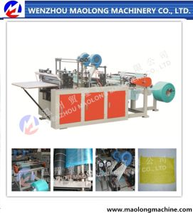 China Wenzhou Single Layer Two Lines Mesh Bag Making Machine