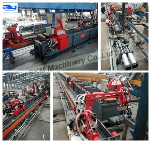 Aluminium Profile Double Puller/ Aluminium Extrusion Puller with Flying Saw pictures & photos