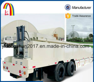 Longshun K Type Arch Curving Roof Machine Ultimate Building Machinery pictures & photos