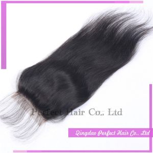 Best Selling Brazilian Virgin Human Hair Closure pictures & photos