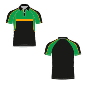 Wholesale 100% Polyester Sublimated Polo T Shirt for Men pictures & photos