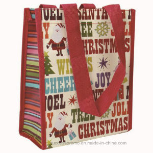 Promotional Cheap PP Woven Laminated Shopping Bag pictures & photos