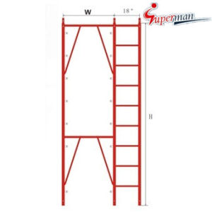 "Apartment Frame with 18"" Ladder-Snap on Lock pictures & photos"