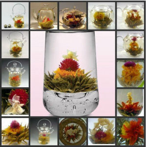 Organic Apple Flavor Blooming Tea pictures & photos