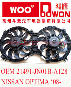 OEM 21491-Jn01b-A128 for Nissan Altima ′08- Car Electric Condenser Cooling Fan pictures & photos
