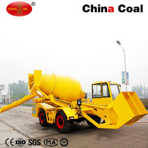 Chinacoal Self Loading Concrete Mixer Truck pictures & photos