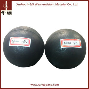 H&G High Chrome Alloyed Steel Ball for Peru Copper Ore