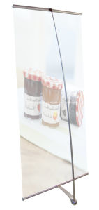 Display Stand L Banner (DW-LDL02 90cm*Width) pictures & photos