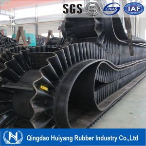 Polyester/Ep Nylon Fabric Sidewall Cleat Transmission Belt pictures & photos