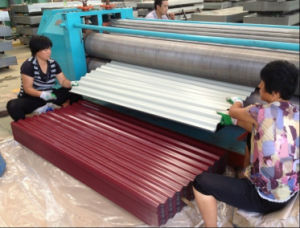 Prepainted Corrugated Sheet Galvanized Metal Plate ASTM G550 pictures & photos