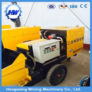 Electric Trailer Concrete Pump Made in China pictures & photos