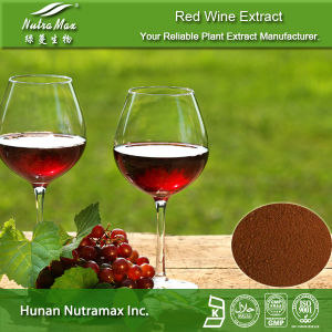 100% Natural Red Wine Extract (Polyphenols 30%-50%; Resveratrol 1%, 5%, 10%;)