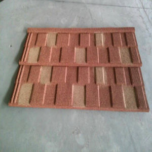 colorful stone coated metal roofing tile pictures & photos
