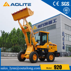 Construction Machinery Chinese Factory 1ton Small Front End Loader pictures & photos