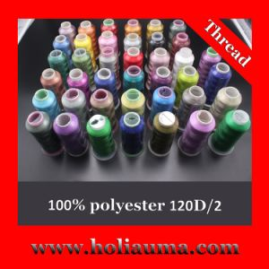 Tajima Machine Use High Quality Polyester Embroidery Thread pictures & photos