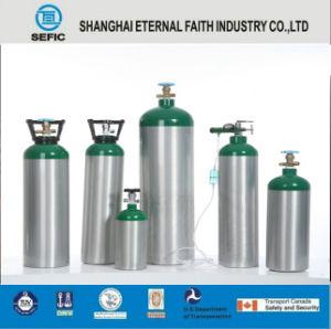 DOT-3al-17e Thread Valve Small Portable Aluminum Oxygen Gas Cylinder pictures & photos