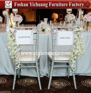 Metal Side Party Chair for Wedding (YC-A85) pictures & photos