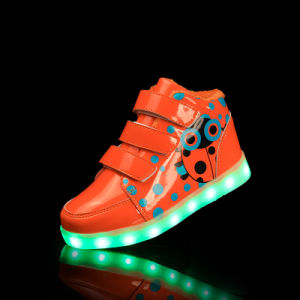 New Year Gift LED Light up Shoes for Kids pictures & photos