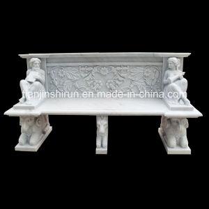 Marble Carving Sculpture Garden Bench, Garden Couch pictures & photos