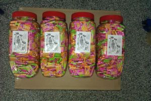 New Type Car Jar Packing Bubble Gum