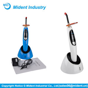 Cordless Dental LED Curing Light with Whitening Function pictures & photos