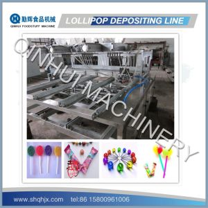 PLC Control/Full Automatic Lollipop Making Equipment (150-600KG/HR) pictures & photos