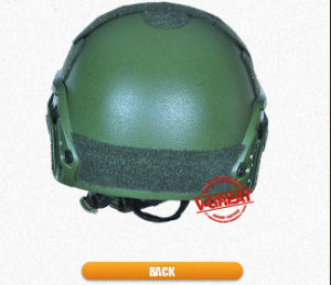 Ballistic /Bulletproof Fast Helmet with Green Color pictures & photos
