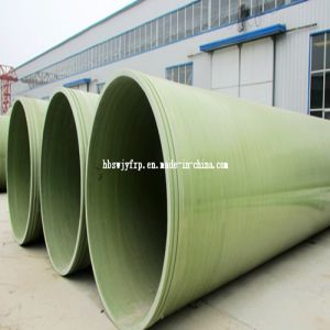 Fiberglass Pipes Pass ISO9001/FRP Pipe for Water pictures & photos