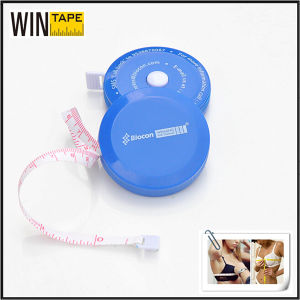 Custom Fashion PVC Favric Tape Measure Promotional Gift (RT-113) pictures & photos