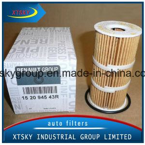 Auto Oil Filter 152094543r for Renault pictures & photos
