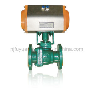 China Made High-Quality PTFE Lined Ball Valve pictures & photos