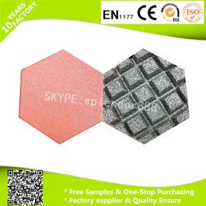High Density Rubber Tile Factory Supplier Colorful Hexagon Rubber Tile pictures & photos