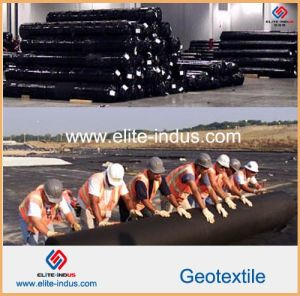 Polyester PP Polypropylene Woven Geotextiles pictures & photos
