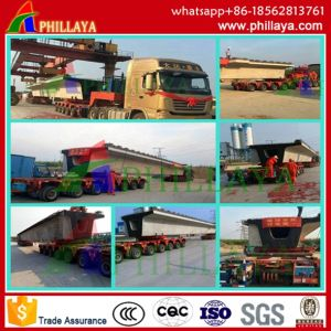 180-250ton Girder Transport Wheeled Vehicle / Trolley Trailer/Girder Trolley pictures & photos