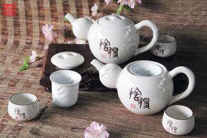 Tableware Ceramic Teapot Gift Set (TP-25CW)
