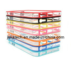 Middle Transparent Bumper Case for iPhone 5s pictures & photos