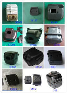 High Quality Chainsaw Spare Parts Muffler pictures & photos