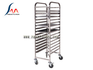 Stainless Steel Bakery Tray Trolley pictures & photos