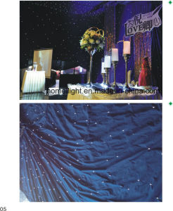 2017 Newest White 4X6m LED RGB Star Curtain for Wedding or Disco pictures & photos