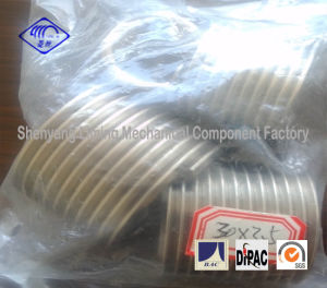 30X3.5 Wire Thread Insert Fasteners in Plastic Bag