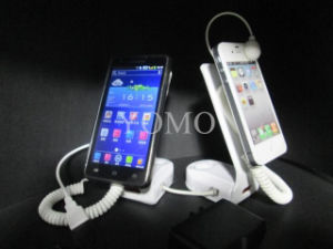 Two Ports Mobile Phone Anti-Theft Display Holder with Alarm