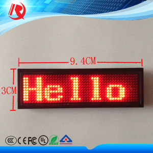 High Brightness Unique LED Name Tag for Long Working Time pictures & photos