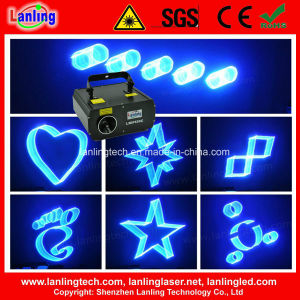 1400MW Cyan Fat-Beam 3D Animation Laser Light (L3DF53CC) pictures & photos