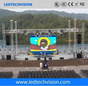 P5.95 Outdoor Flexible LED Display for Advertising (P4.81, P5.95, P6.25) pictures & photos