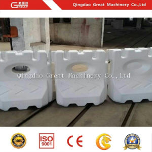 Plastic Road Way Traffic Safety Barriers Block Making Machine Manufacture pictures & photos